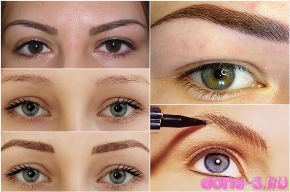 Техники нанесения перманентного макияжа