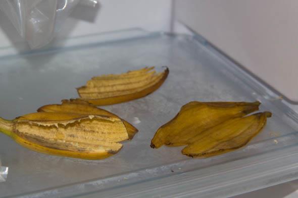 Применение кожуры банана