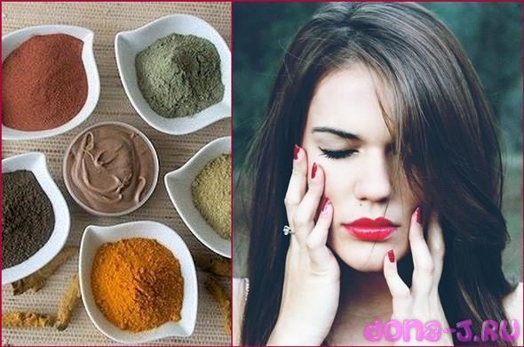 Приготовление и применение масок из глины для волос