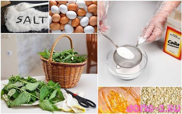 Рецепты домашних средств с содой для лечения перхоти